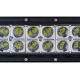 Rampe - barre de 40 LED CREE feu additionnel 120W incurvé - 550mm