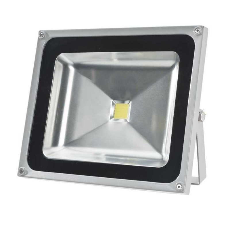 Projecteur 220v led 50w ext rieur ip65 equivalent 500w for Projecteur led exterieur 50w