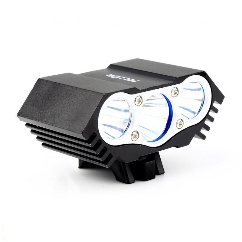 Lampe Led Vtt Et Velo Ultra Puissante X3 Cree Triple Led