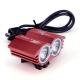 Eclairage LED VTT et vélo très puissant X2 Cree