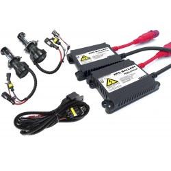 Kit bi-xénon H4-3 55 Watts XPO anti-erreur ballast aluminium pour voiture