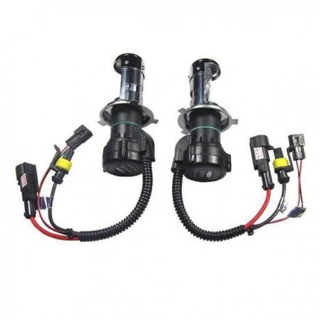 Ampoules xénon H4-3 35Watts de rechange - Vendues par paire