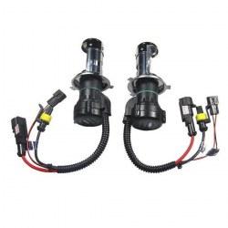 Ampoules xénon H4-3 55Watts de rechange - Vendues par paire