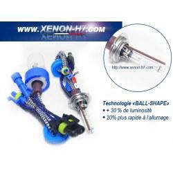 Ampoules xenon H7X 100W métal haut de gamme - vendues par paire