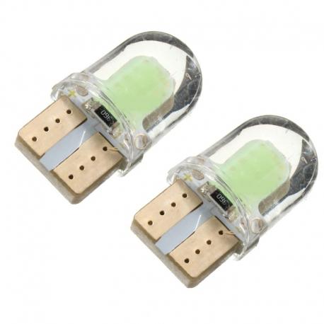 Ampoules veilleuses à LED W5W T10 2W NEW - Blanc froid