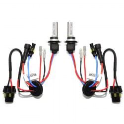 Ampoules xenon courtes H7C 75W haut de gamme metal & ceramique