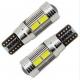Veilleuses LED T10 W5W haut de gamme CANBUS 8W CREE - Blanc