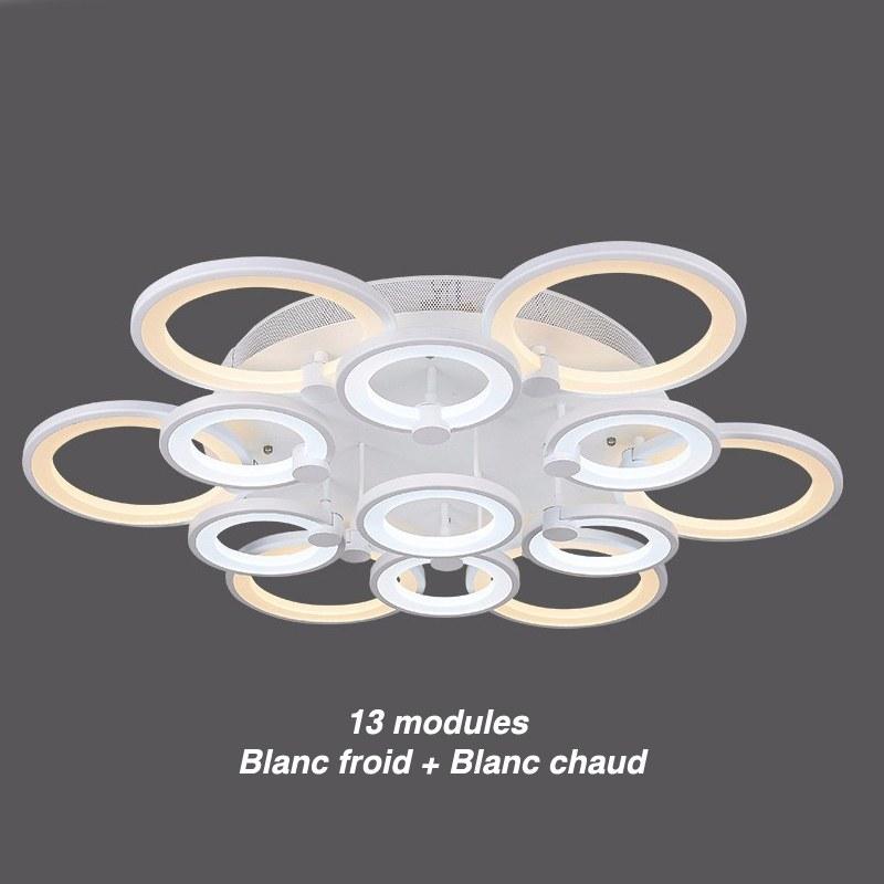 lustre de salon luminaire dint233rieur 224 led pour plafond