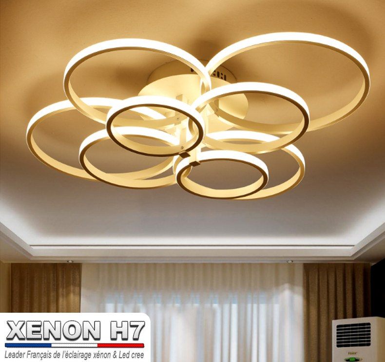Eclairage Salon Moderne lustre led de salon moderne luminaire d'intérieur éclairage plafond