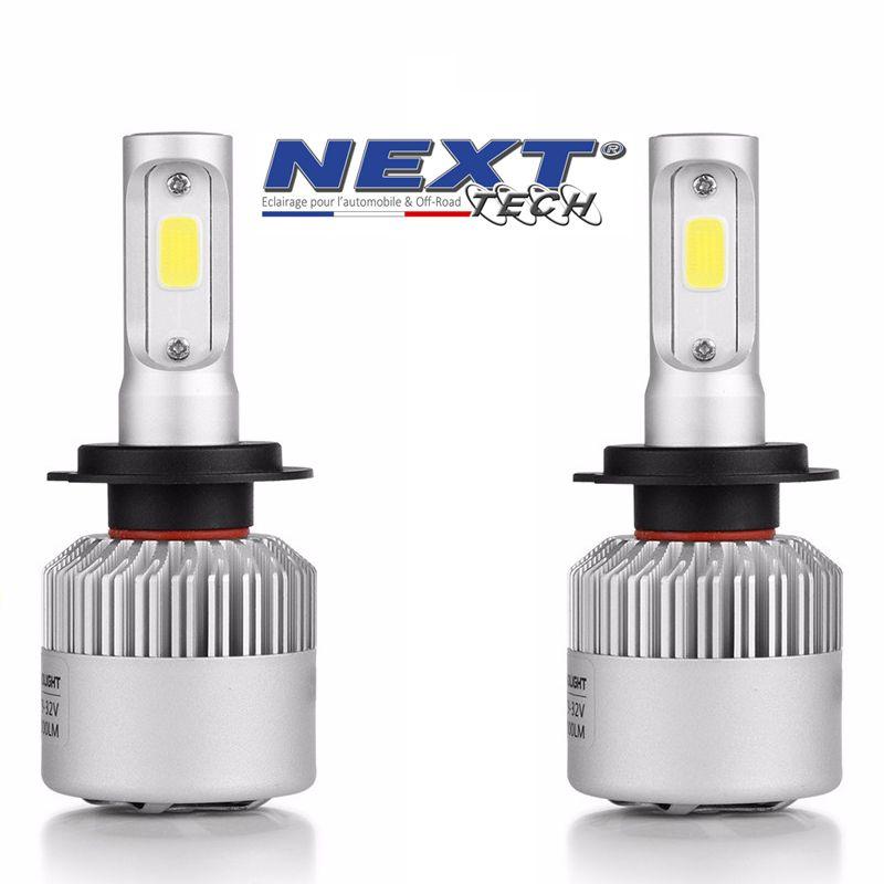 Ampoules h7 led ventil 75w blanc haute puissance - Ampoule led puissante ...