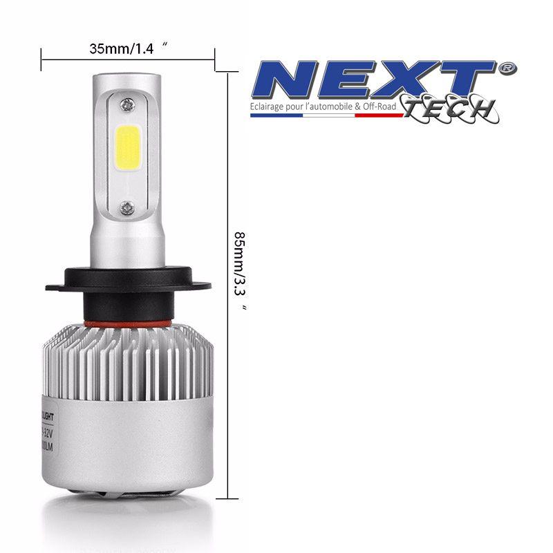 ampoule led ventile h4