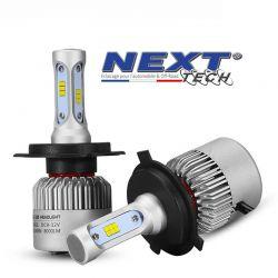 Ampoules H4 LED ventilé 75W blanc haute puissance