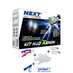 Kit xénon H3 55 Watts XTR CANBUS anti-erreur ultra haut de gamme ampoule métal voiture