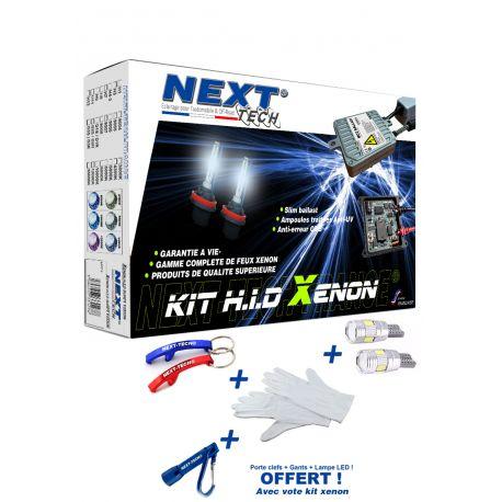 Kit xénon H4-3 55 Watts XTR CANBUS anti-erreur ultra haut de gamme ampoule métal voiture
