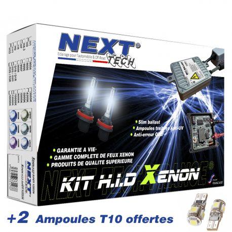 Kit xénon moto et scooter H3+H9 55 Watts XPO anti-erreur ballast aluminium