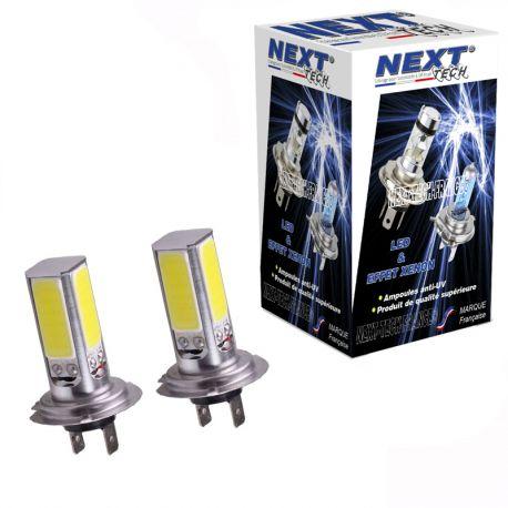 Ampoules H7 LED 30W 270° blanc - Next-Tech®