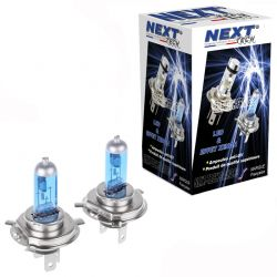 Ampoules H4 100W effet xenon 6000K Next-Tech®
