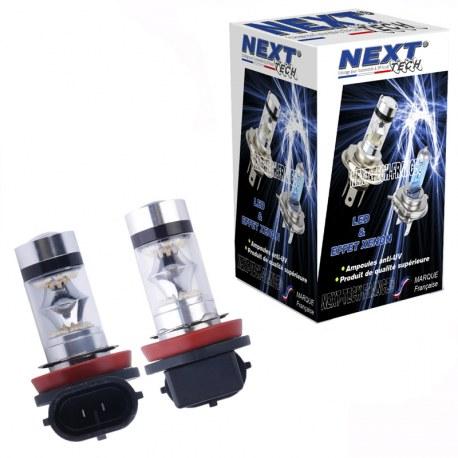 Ampoules H7 LED 35W 360° blanc - Next-Tech®