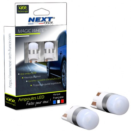 Ampoules LED T10 W5W - Next-Tech - Blanc neutre