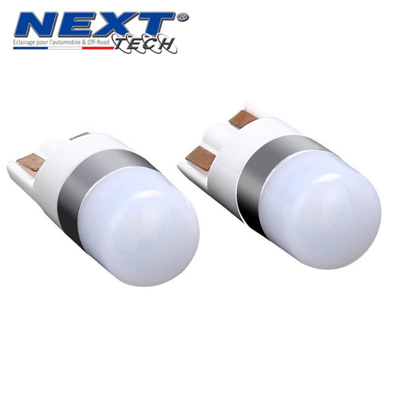 2 Ampoules LED CREE T10 W5W Orange Canbus Anti Erreur Ampoule Clignotant