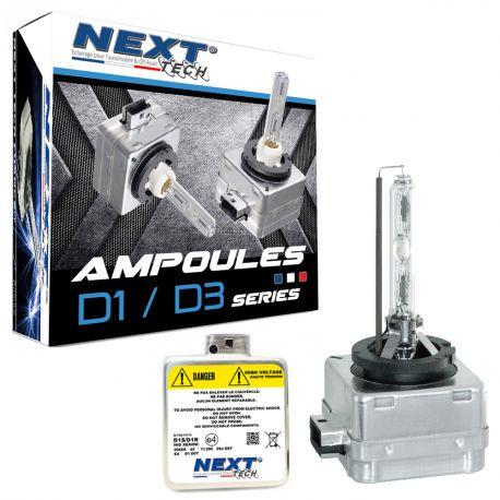 Ampoules xenon D1S 55Watts de rechange - Vendues par paire