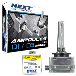 Ampoules xénon D3R 35Watts de rechange - Vendues par paire