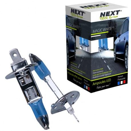 Ampoules effet xenon H1 55W Magic White Next-Tech®