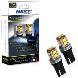LED T10 W5W CANBUS haut de gamme - Blanc - Next-Tech®