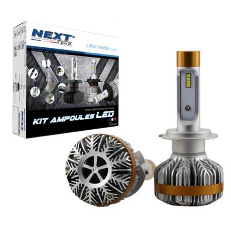 Ampoules Canbus LED H7 55W ventilées haut de gamme Next-Tech®