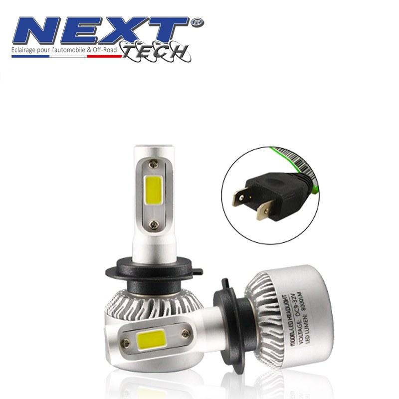 Tech® Mini Ventilées 75w H7 Led Blanc Next Ampoules eWDIEY2bH9