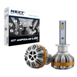 Ampoules Canbus LED H1 55W ventilées haut de gamme Next-Tech®