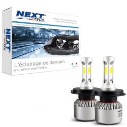 Ampoules H4 LED mini ventilées 75W blanc - Next-Tech®
