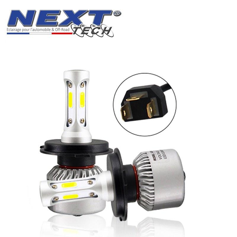 Ampoules 75w Blanc Tech® Next Ventilées H4 Mini Led EDIWH92