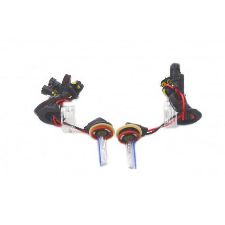 Ampoules xénon métal H11R 35Watts de rechange vendues par paire