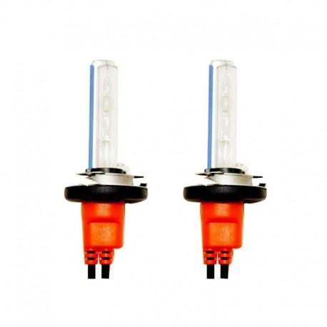 Ampoules xénon métal H7 Orange 35Watts de rechange - Vendues par paire