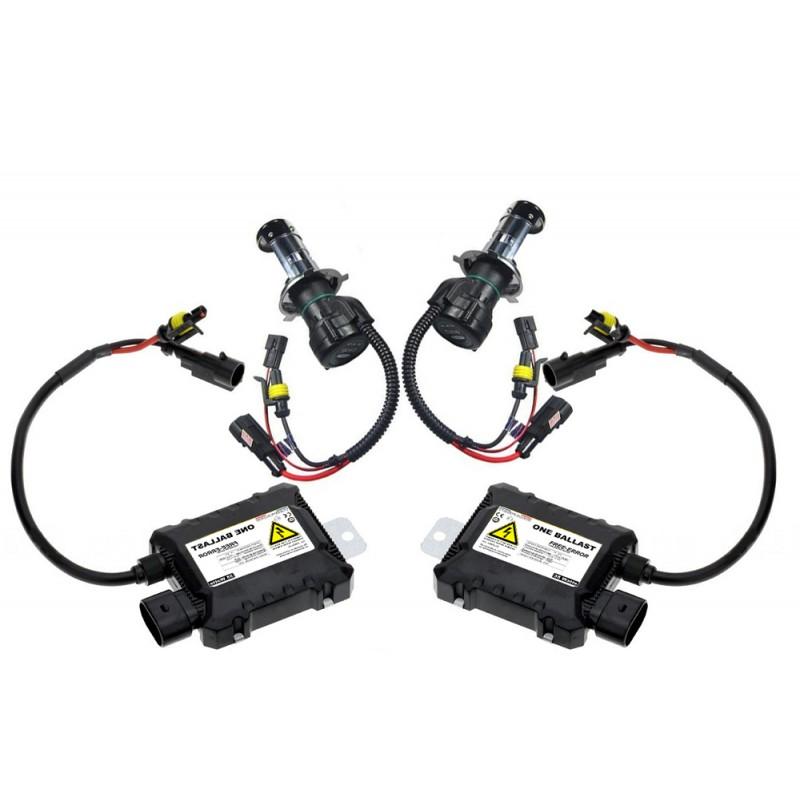 Kit Bi Xnon H4 3 55 Watts One Anti Erreur Intgr Au Ballast Voiture
