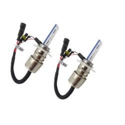 Ampoules bi-xénon métal H6m 55Watts de rechange vendues par paire