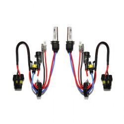 Ampoules xénon métal H3R 55Watts de rechange vendues par paire