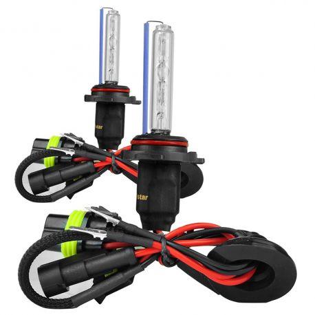 Ampoules xénon H9 55Watts de rechange - Vendues par paire
