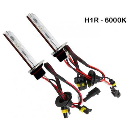 Ampoules xénon métal H1R 55Watts de rechange vendues par paire