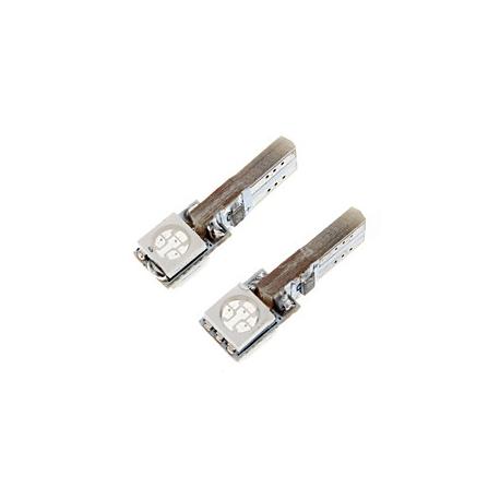 Ampoule veilleuse à LED T5 SMD 2W CANBUS- Blanc
