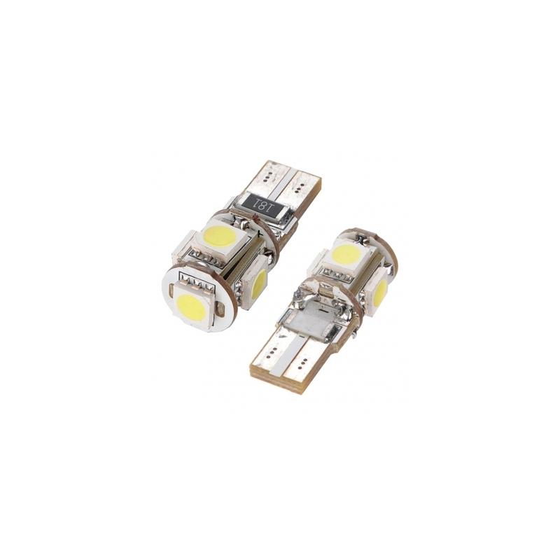 Led Veilleuses À 3w Ampoules T10 Smd Blanc 5j4ARL