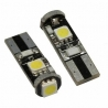 Ampoule veilleuse à LED T10 SMD 2W - Blanc