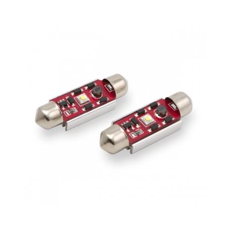 Veilleuses ampoules navette C5W à 1 Led CREE CANBUS