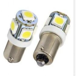 Ampoules veilleuses à LED BA9S / T4W SMD 2W - Blanc