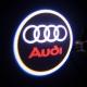 Lumière Coming Home LOGO laser pour portière - Audi