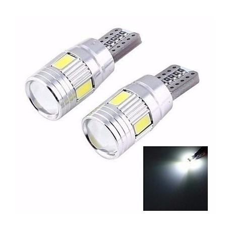 Ampoules veilleuses CANBUS à LED T10 6W CREE - Blanc