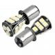 Ampoules P21/5W BAY15D 1157 à 18 LED CANBUS Orange
