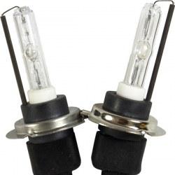 Ampoules xénon métal H7R 55Watts de rechange vendues par paire
