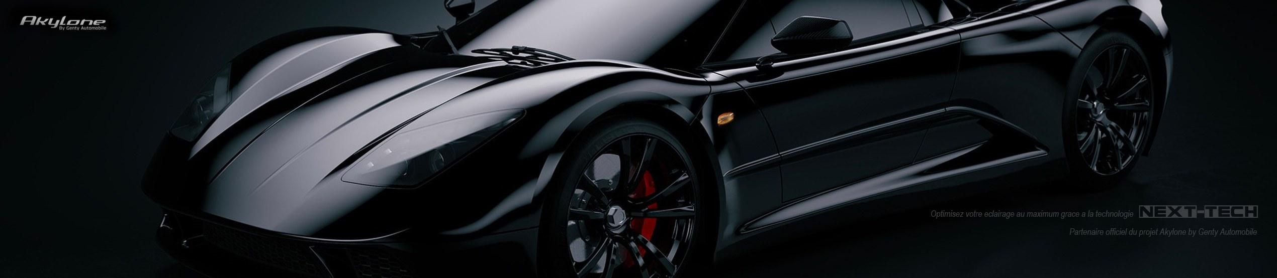 Next-Tech France éclairage automobile haut de gamme, partenaire du projet Akylone by Genty Automobile